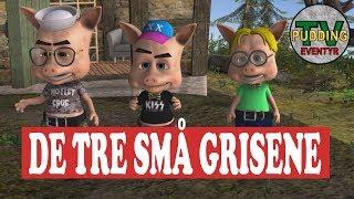 De tre små grisene - Animerte eventyr