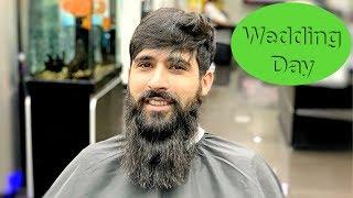 Wedding Hair Transformation ★ Amazing Haircut & Hairstyle Tutorial ★ Face Waxing ★ Beard