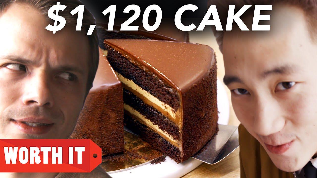 Што е повкусно: Торта од $27 или од $1.120?