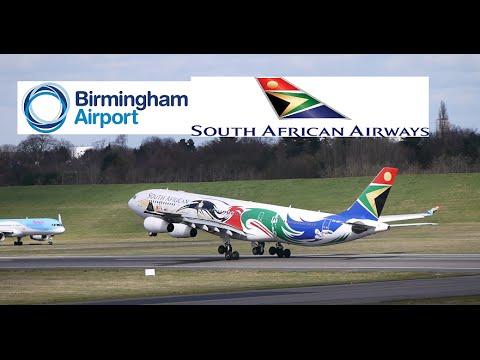 South Africa Airways Flight 4234 (BHX to LHR)