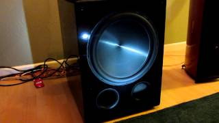 "Rythmik FV15HP Direct Servo subwoofer 15"" ported audiophile sub"