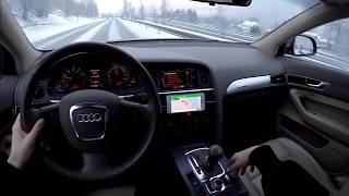 2006 Audi A6 C6 3.2 Quattro 60 FPS POV/SNOW DRIFT