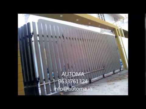 Automa curved sliding gate,Automatic sliding gate kerala ...