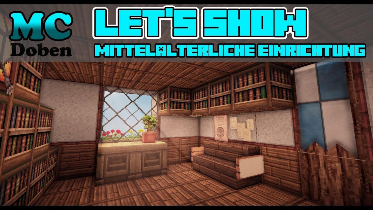 Minecraft Mittelalter Lets Show Mittelalterliche Stadt - Minecraft mittelalter haus einrichtung