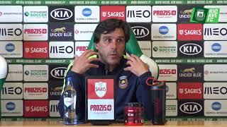 Conferência de Imprensa: CD Nacional x Rio Ave FC