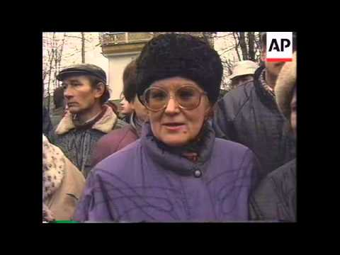 RUSSIA: ESTONIA: BORIS YELTSIN VISIT