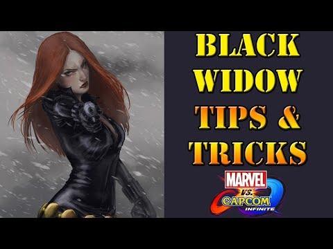 Marvel vs Capcom: Infinite - Black Widow Tips and Tricks