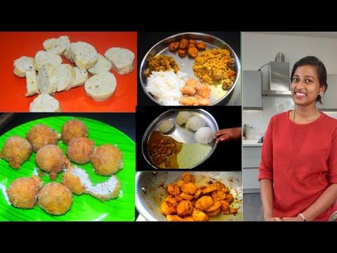My cooking vlog  trying out innaiku enna samayal sunithaka's sausage recipe  panneer ball recipe😋