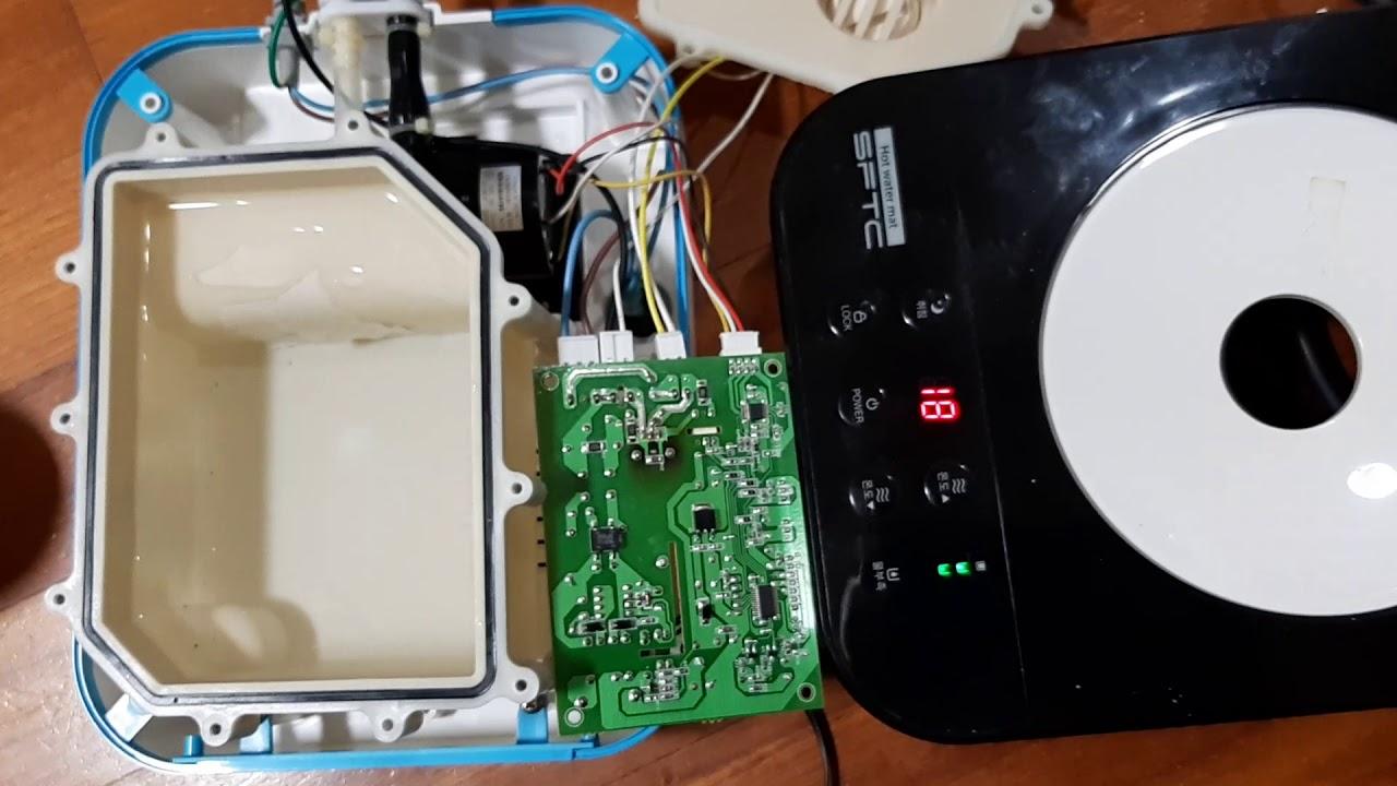 온수매트 온도조절기수리 E1 에러 물부족,수위센서 점검