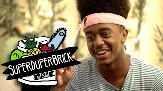 SuperDuperBrick Makes A Beat On The Spot | The Crate