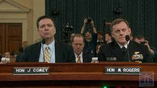 FBI Director Comey testifies before House Intelligence Committee