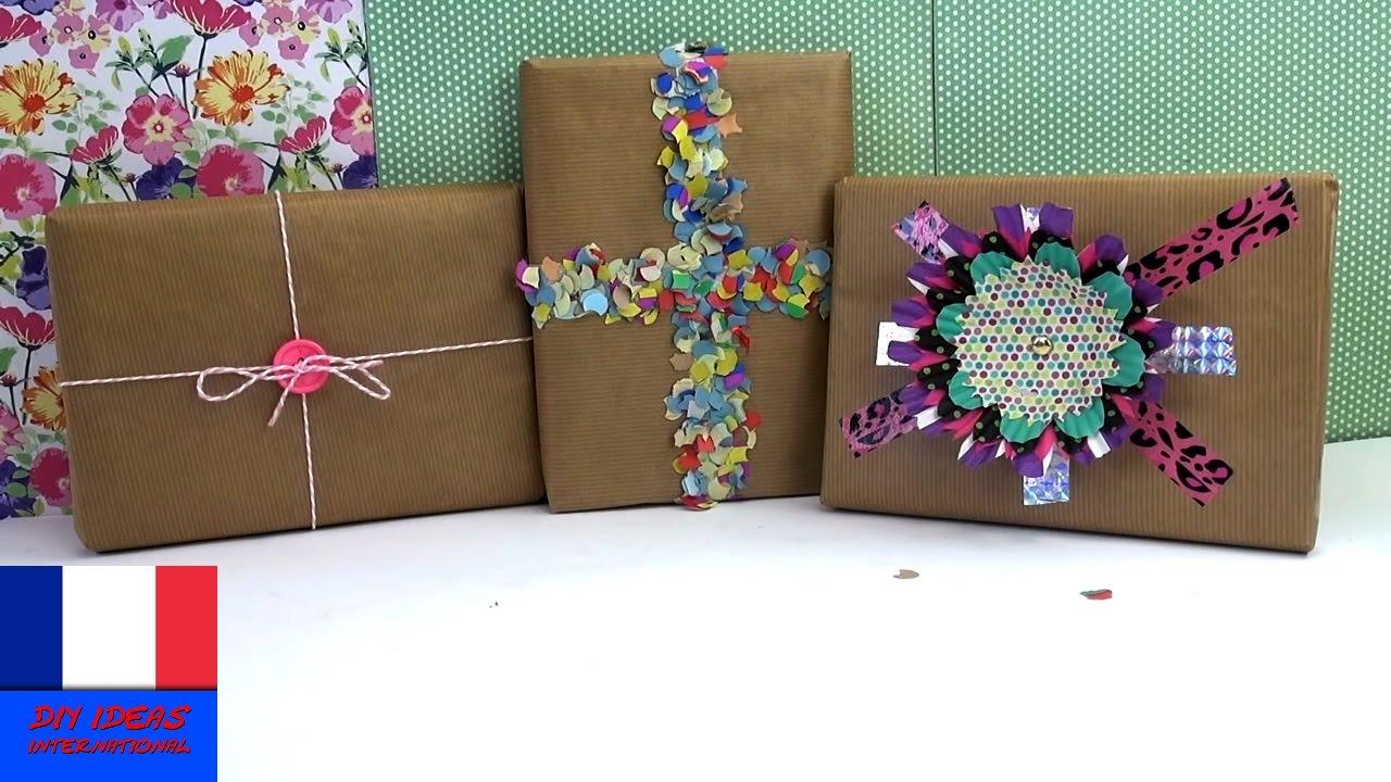 emballages pour cadeaux / créer et emballer soi-même ses cadeaux / 3