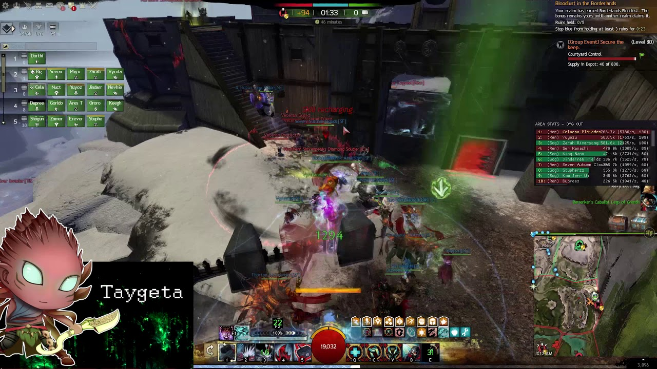 GW2 - WvW Hammer Revenant - Easy Big Damage!