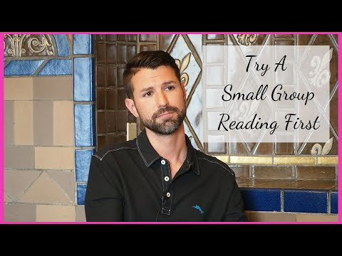 Try A Small Group Reading First