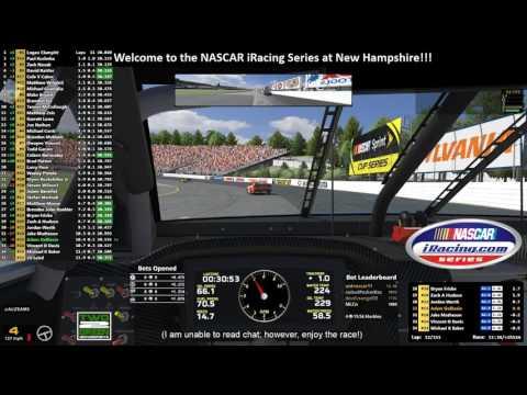 Week 19: NASCAR iRacing Series at New Hampshire