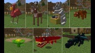 Minecraft Mod review//Animal Bikes//ep1