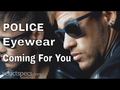 POLICE Eyewear | Coming For You Ft. Neymar Jr - With Selectspecs.com