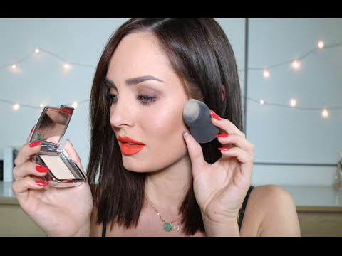 Simple Everyday STROBE Makeup Look with Red Lip \\ HOURGLASS COSMETICS