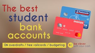 The best student bank accounts - including Nationwide, Monzo, Santander
