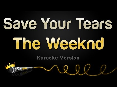 The Weeknd – Save Your Tears (Karaoke Version)