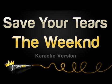 The Weeknd – Save Your Tears (Karaoke Version)