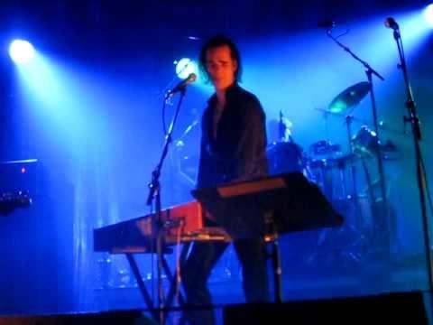 Man in the Moon, Grinderman, Nick Cave,  live in Paris 26/10/2010