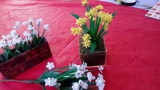 Florzinhas com sobras de Eva para complemento de arranjos florais de e.v.a.