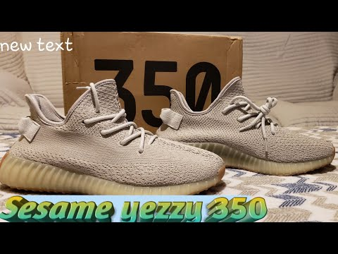 Yeezy Boost 350 v2 Sesame review
