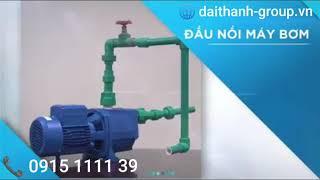 Hướng dẫn lắp đặt & giới thiệu sản phẩm: hệ thống dàn bộ lọc nước thô tổng đầu nguồn Tân á Đại T