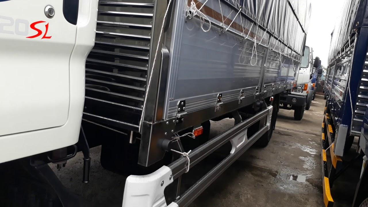 Xe tải Hyundai 8 tấn thùng dài 6m3, Hyundai HD120SL Đô Thành - 0909 562 512 - YouTube