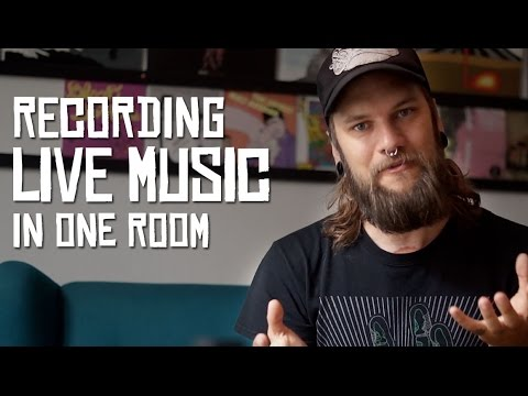 Recording live in one room (HoboRec Bull Sessions #9)