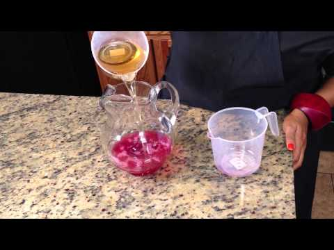 Recipe for Ginger Ale & Grape Juice Punch : Punch & Fruity Drinks