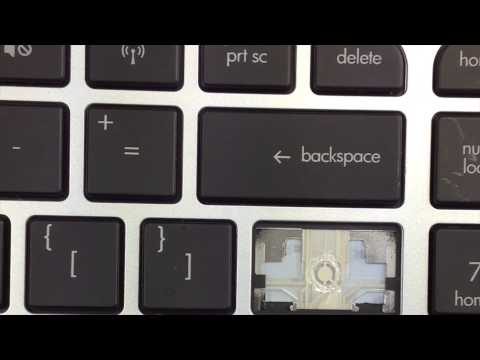 Replace Keyboard Key HP Envy M6 | Fix Laptop Installation Repair