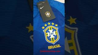 Goaljerseyshop.com - 2018 world cup Brazil Away Soccer Jersey Shirt