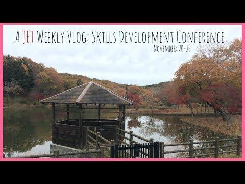 JET Programme Weekly Vlog 2: JET Skills Development Conference, Okonomiyaki and more.