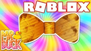 HOW TO GET DIY CARDBOARD BOW TIE - ROBLOX BLOXY EVENT