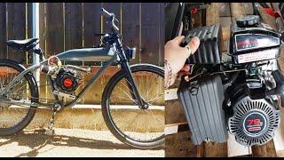 Cosas que no sabias del motor 79cc 4 tiempos para bicimoto (#bicimotoszoids)