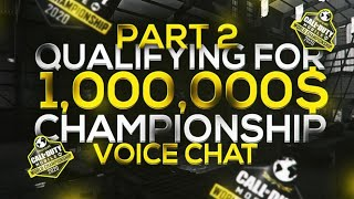 #1 Team in COD Mobile Qualifying for CODM Champs + Voicechat