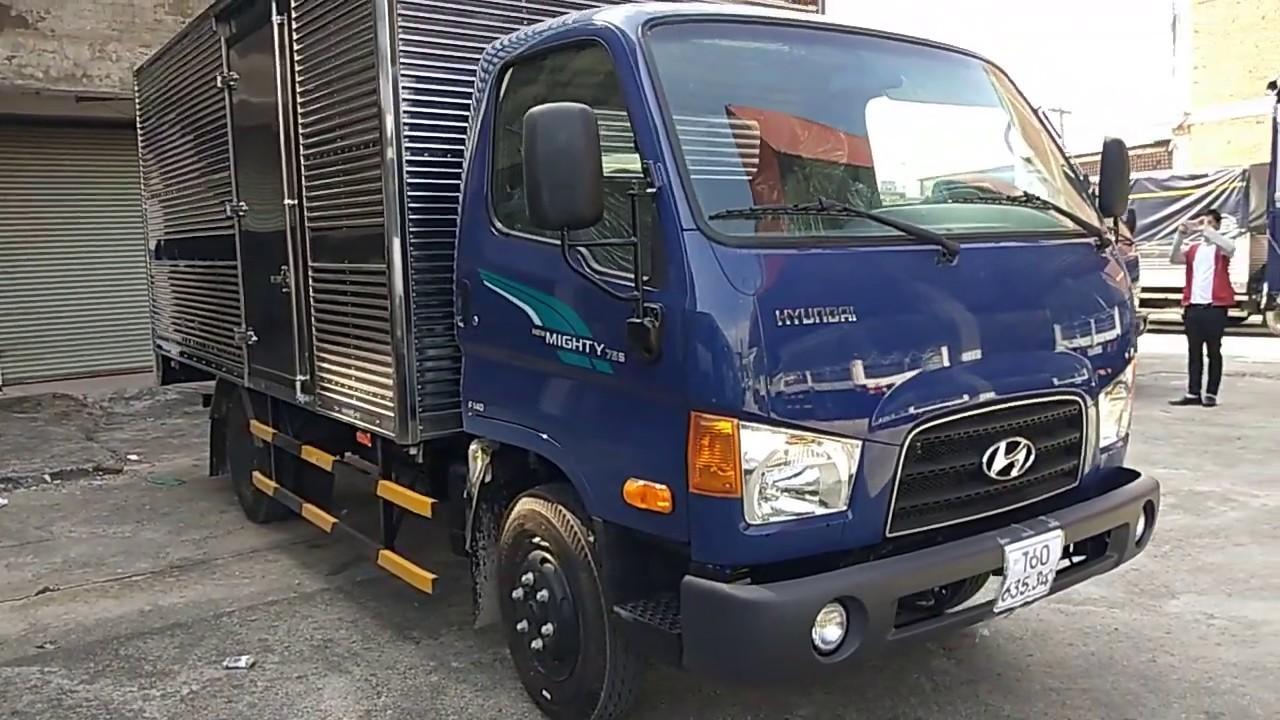 Xe tải hyundai mighty hd75s 3t5 giá xe 695 triệu/ Zalo.gọi 096 669 4414 - YouTube