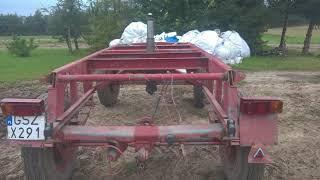Naprawa ramy przyczepy, chwytaka do drewna i przyczepy do zwózki drewna /after crushing compilation