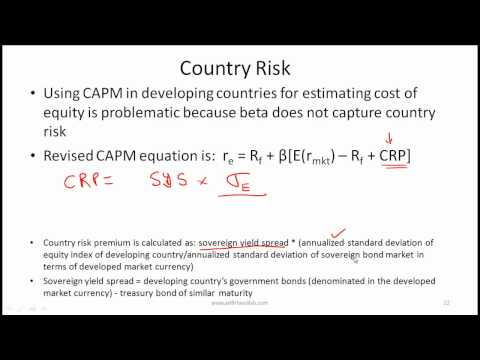 CFA Level I Cost of Capital Lecture - Part 3 - by Mr. Arif Irfanullah