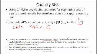 CFA Level I Cost of Capital Video Lecture by Mr. Arif Irfanullah part 3