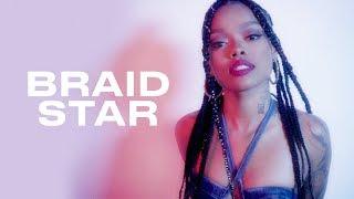 Watch Maliibu Miitch Get a Bomb Braided Bun | Braid Star | ELLE