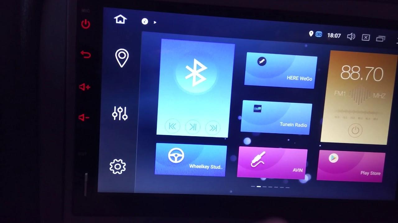 Autoradio Coika PX5 Gui 4Go Android Oreo 8 0