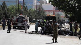 Rockets fell near Afghan presidential palace in Kabul