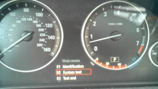 BMW Instrument Cluster Hidden Test Functions