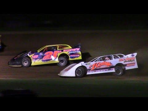 ULMS Super Late Model Heat Two | McKean County Raceway | 9-28-17