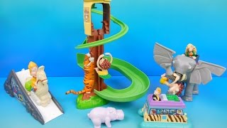 2000 THE WILD THORNBERRYS SET OF 4 BURGER KING KIDS TOYS VIDEO REVIEW by FASTFOODTOYREVIEWS