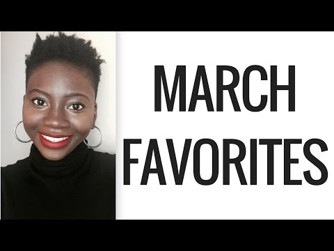 MARCH FAVORITES: ORGANIC, NATURAL, HEALTH PRODUCTS