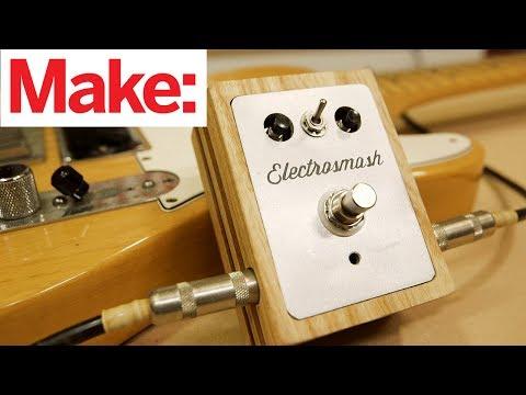 Electrosmash Arduino Guitar Pedal & Custom Enclosure